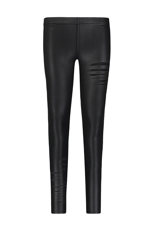 Coated Ripped Legging