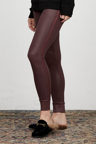 Coated Keily Cuffed Legging