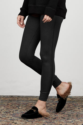 Coated Keily Cuffed Legging Coated Keily Cuffed Legging by David Lerner