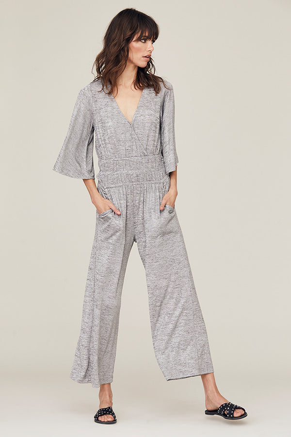 Gwen Metallic Jumpsuit