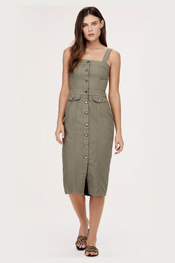 Sophie Front Button Dress