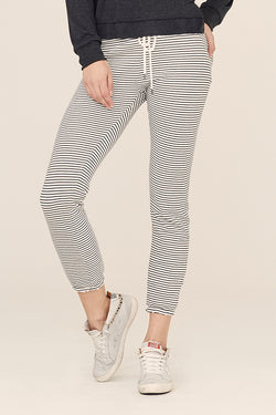 Stripe French Terry Classic Sweatpant