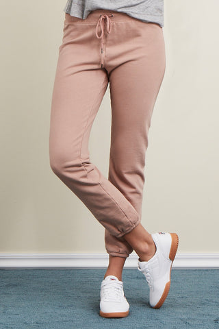 Lounge Jogger in Structured French Terry