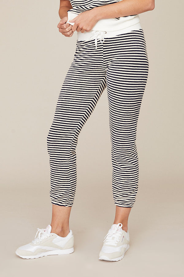 Stripe Terry Classic Jogger