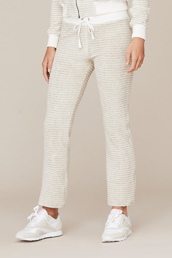 Stripe Terry Crop Pant
