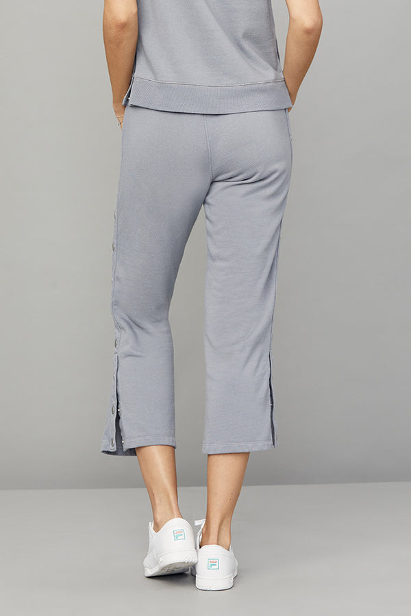 Crop Side Snap Lounge Pant