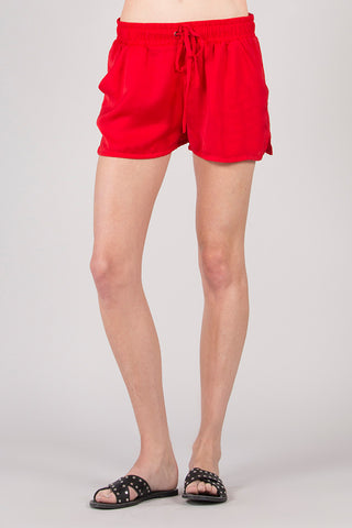 Crinkle Poly Silk Sport Short