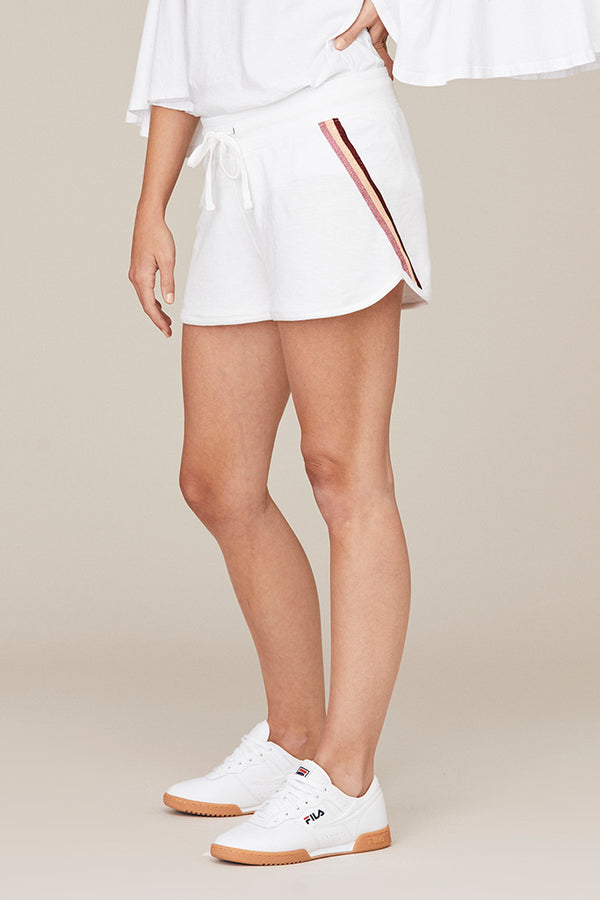 Side Stripe Sport Short