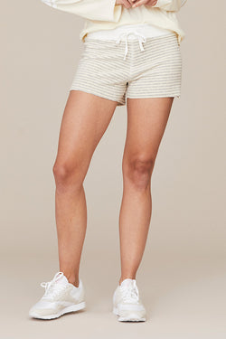 Stripe Terry Lounge Short