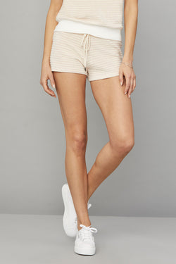 Stripe Lounge Short