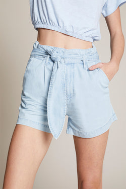 Lexi Paperbag Chambray Short