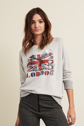 London Bridge Raglan Pullover