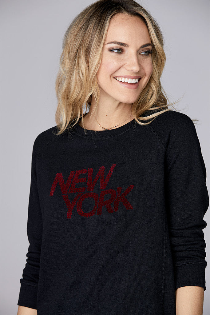 New York Leopard Pullover