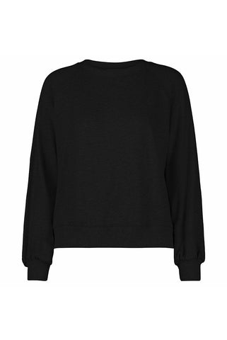 French Terry Bishop Sleeve Raglan Pullover