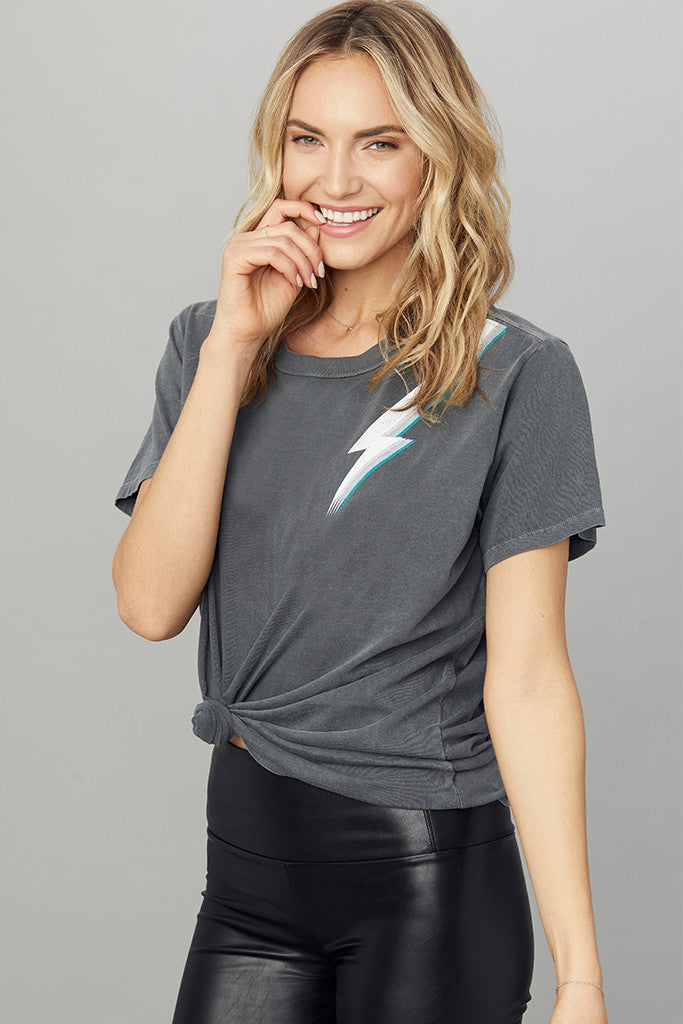 Lightning Bolt Boyfriend Tee