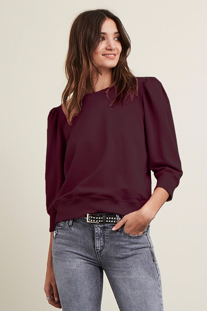 Vanessa Top in Structured French Terry