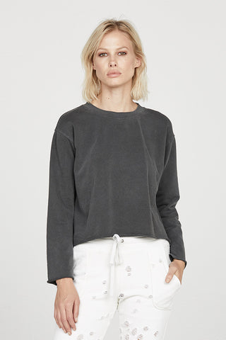 French Terry Bell Sleeve Top