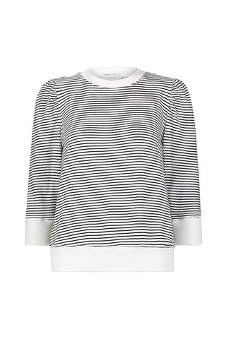 Vanessa Top in Stripe French Terry