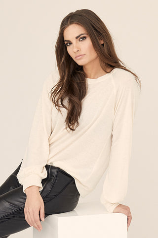 Raglan Bishop Sleeve Pullover