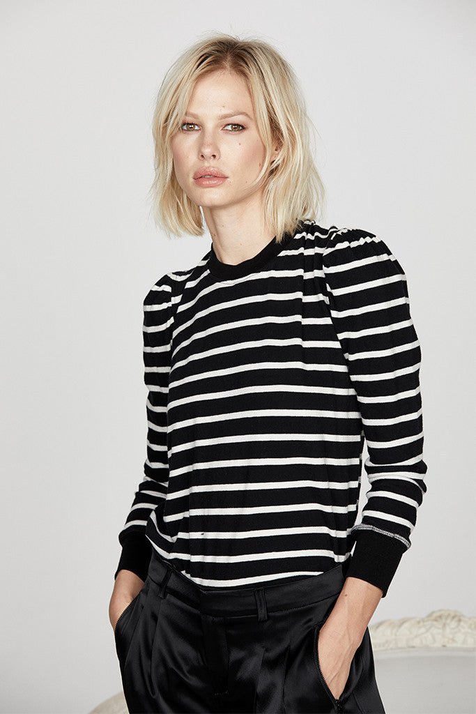 08ab8fd5d6ceb Women s Vanessa Top in Stripe Jersey - Studio by David Lerner