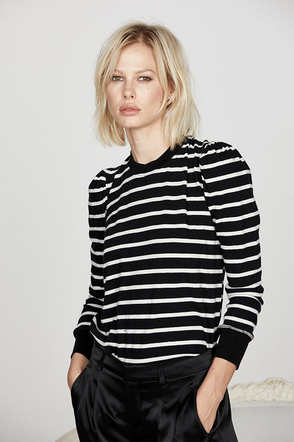Vanessa Top in Stripe Jersey