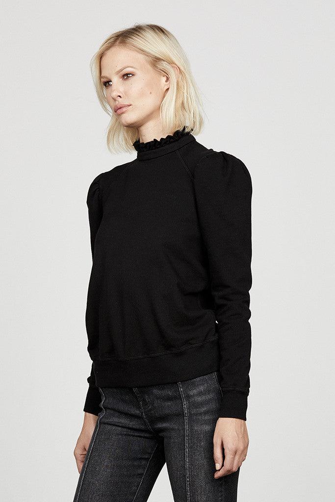 Vanessa Top with Victorian Collar