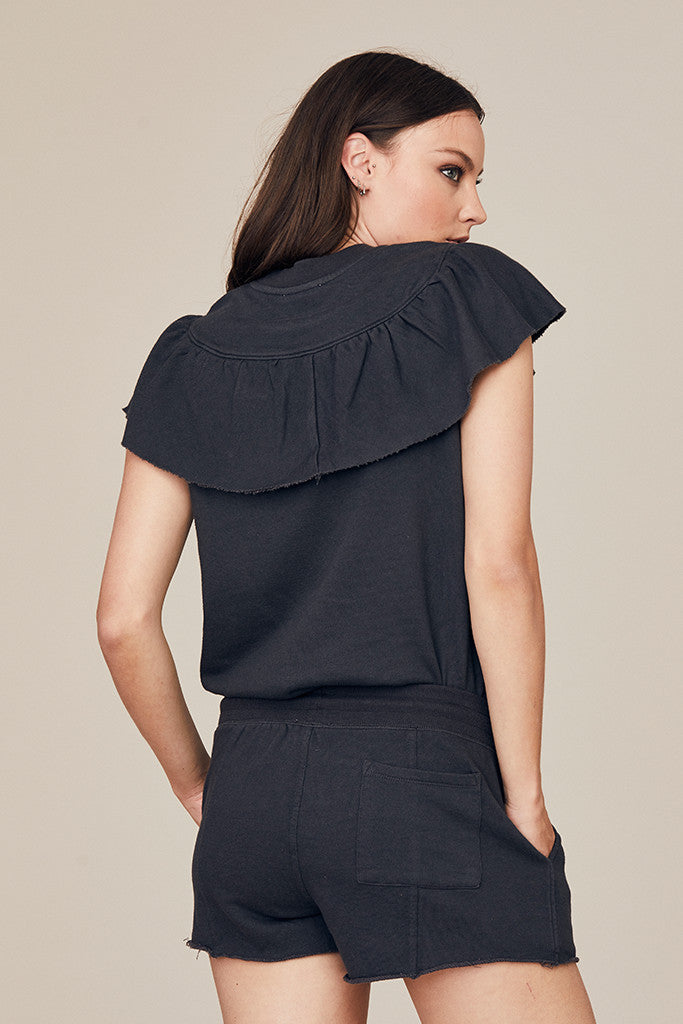 Ruffle Panel Top