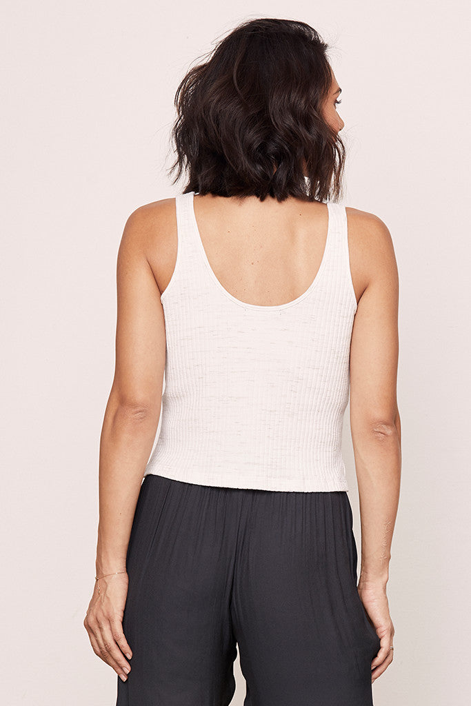 Speckled Crop Tank