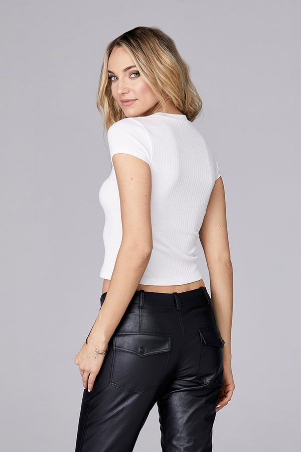 Cap Sleeve Crop