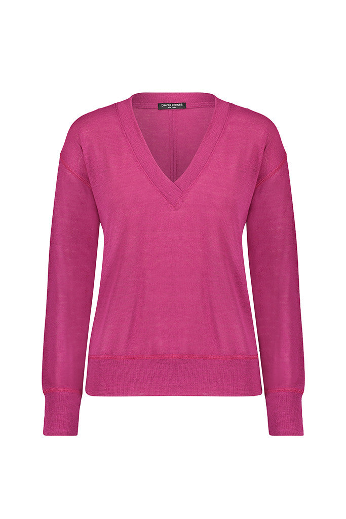 Jennifer V-Neck Pullover