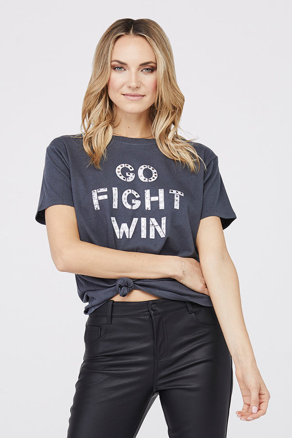 """Go Fight Win"" Boyfriend Tee"