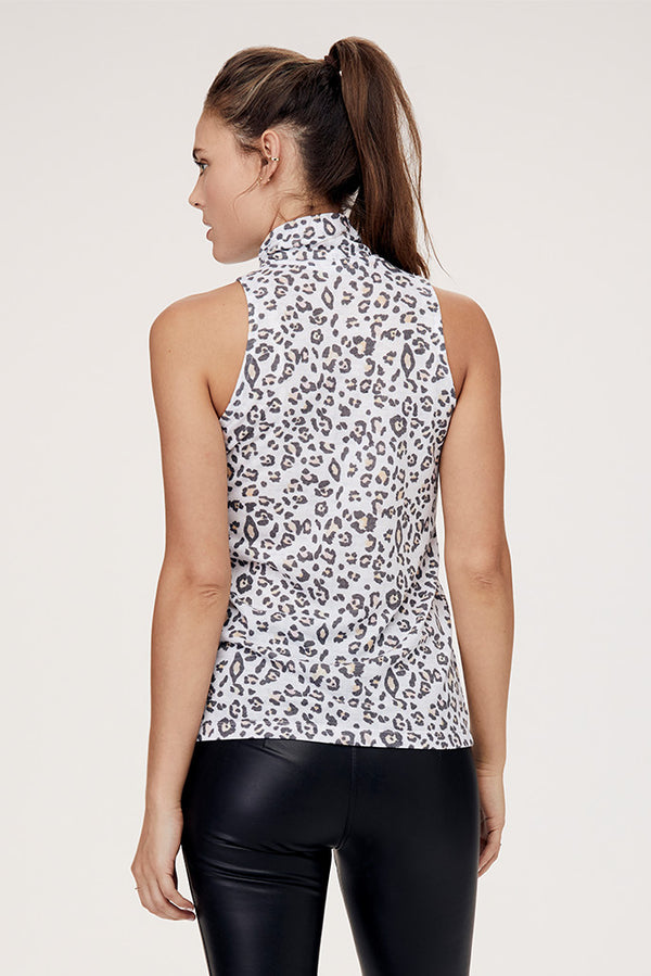 Tori Sleeveless Turtleneck