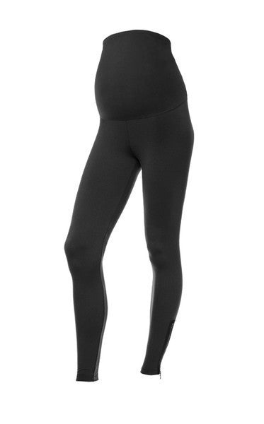 Maternity Full Panel Size Zip Legging