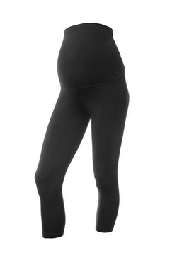 b94b9464a0391 High quality Designer Maternity Cropped Leggings - David Lerner NY