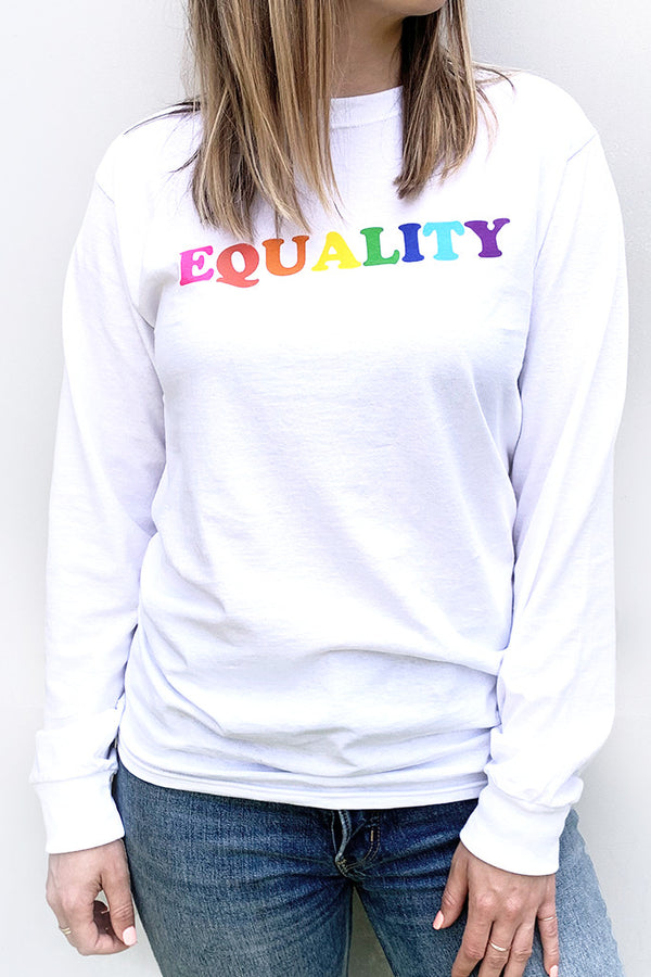 Rainbow Equality Long Sleeve (unisex)