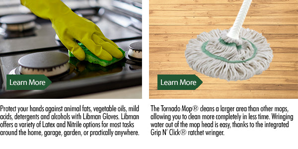 Libman Mops and Brooms