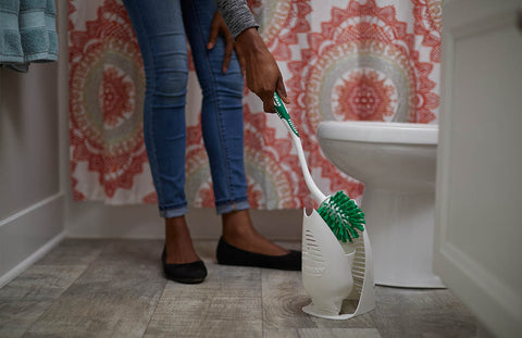 Libman Designer Bowl Brush and Caddy