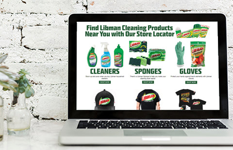 Visit The Libman Online Store to Purchase Top Cleaning Products Today