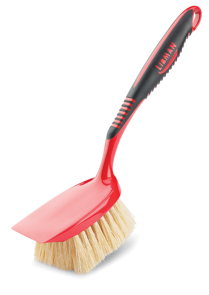 SHORT HANDLE TAMPICO SCRUB BRUSH