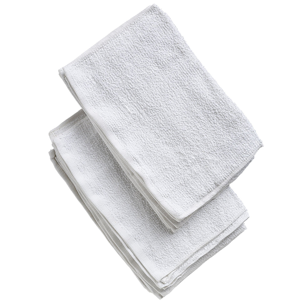 12 PACK TERRY TOWELS