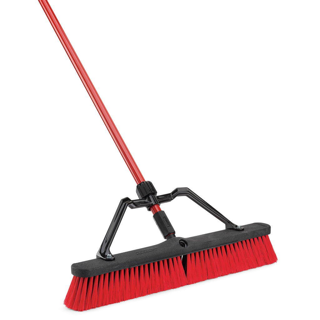 "24"" MULTI-SURFACE HEAVY DUTY PUSH BROOM"