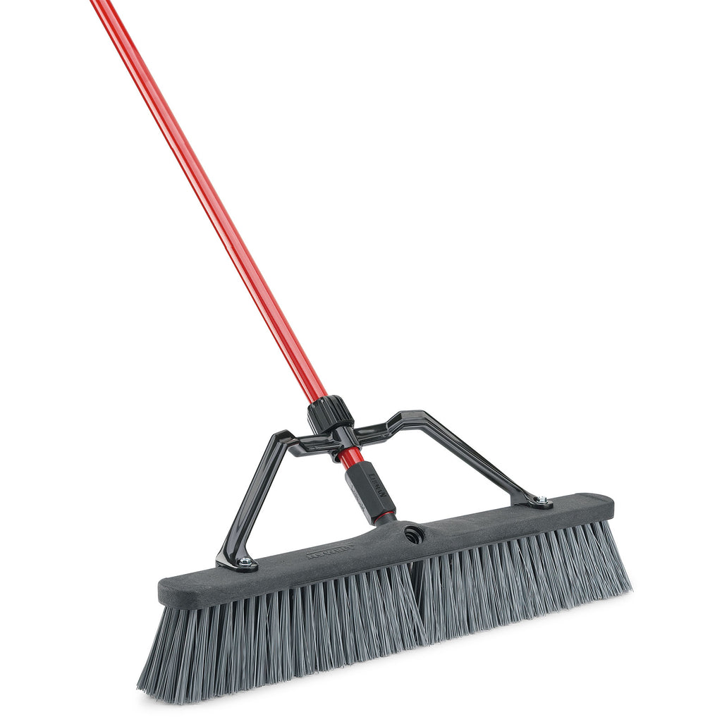 24 Rough Surface Heavy Duty Push Broom Libman Com