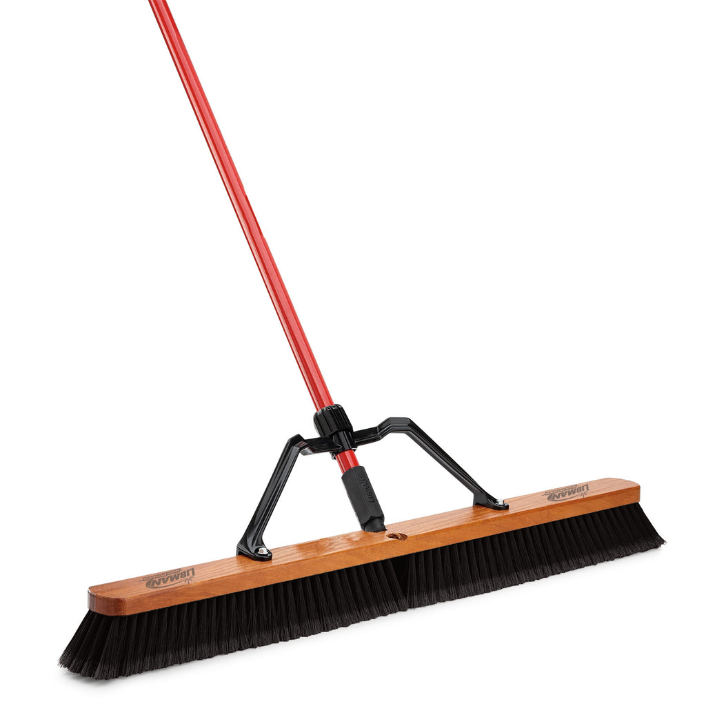 "36"" SMOOTH SURFACE HEAVY DUTY PUSH BROOM"
