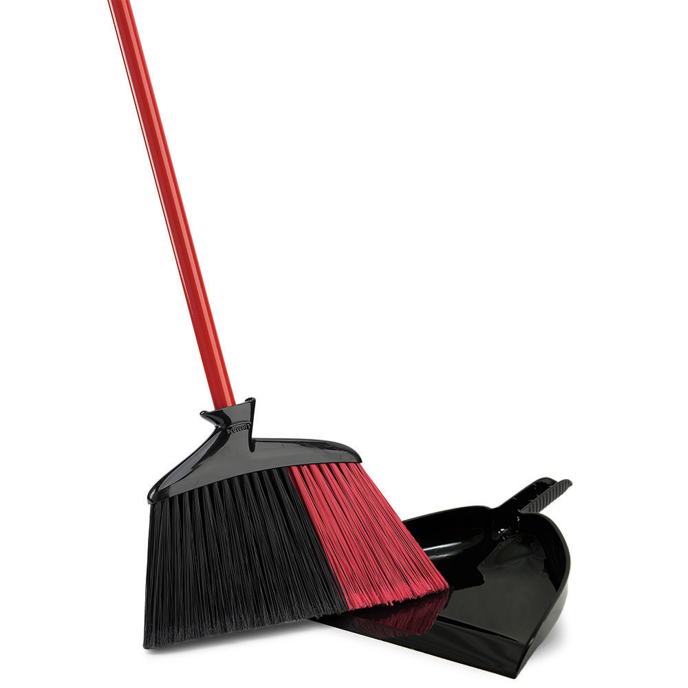 INDOOR /OUTDOOR ANGLE BROOM WITH DUSTPAN