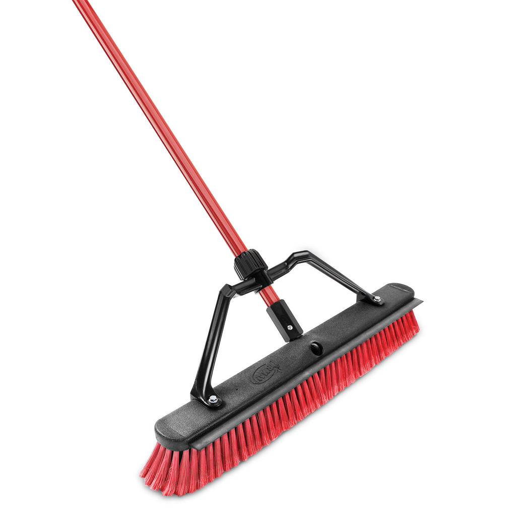 "24"" PUSH BROOM WITH SQUEEGEE"