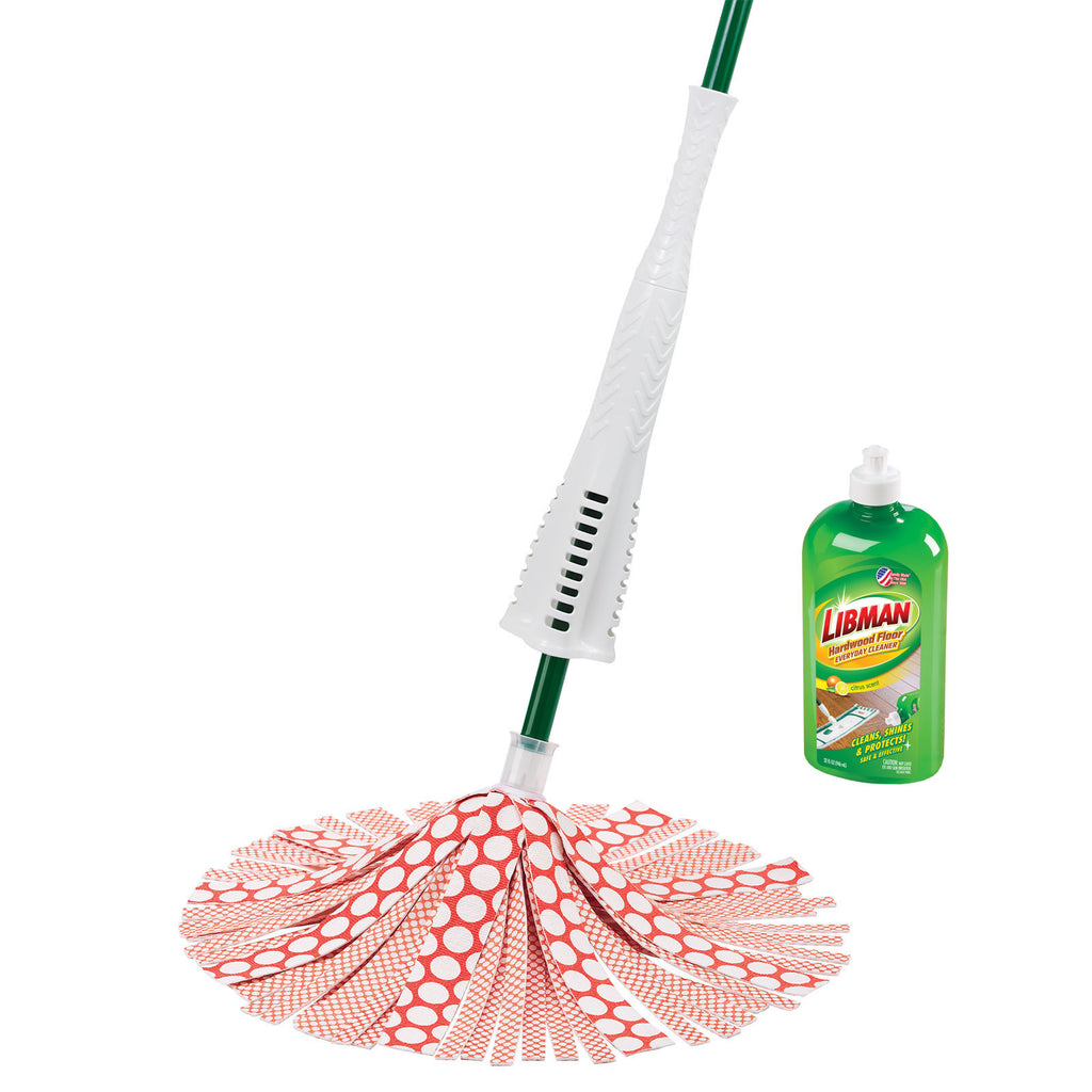 Libman Wonder Mop Refill Cleaning Tool Microfiber Stubborn Dirt Machine Washable