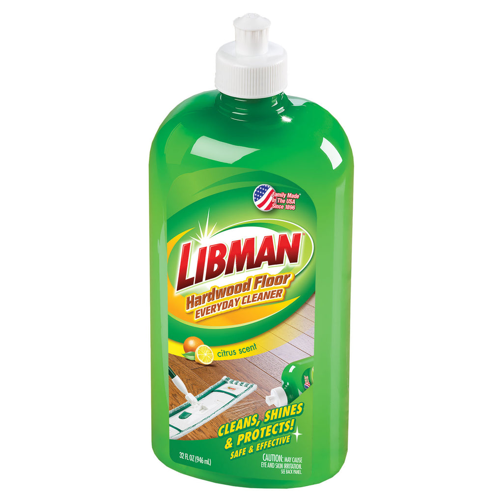 Libman hardwood floor everyday cleaner for Hardwood floor cleaner