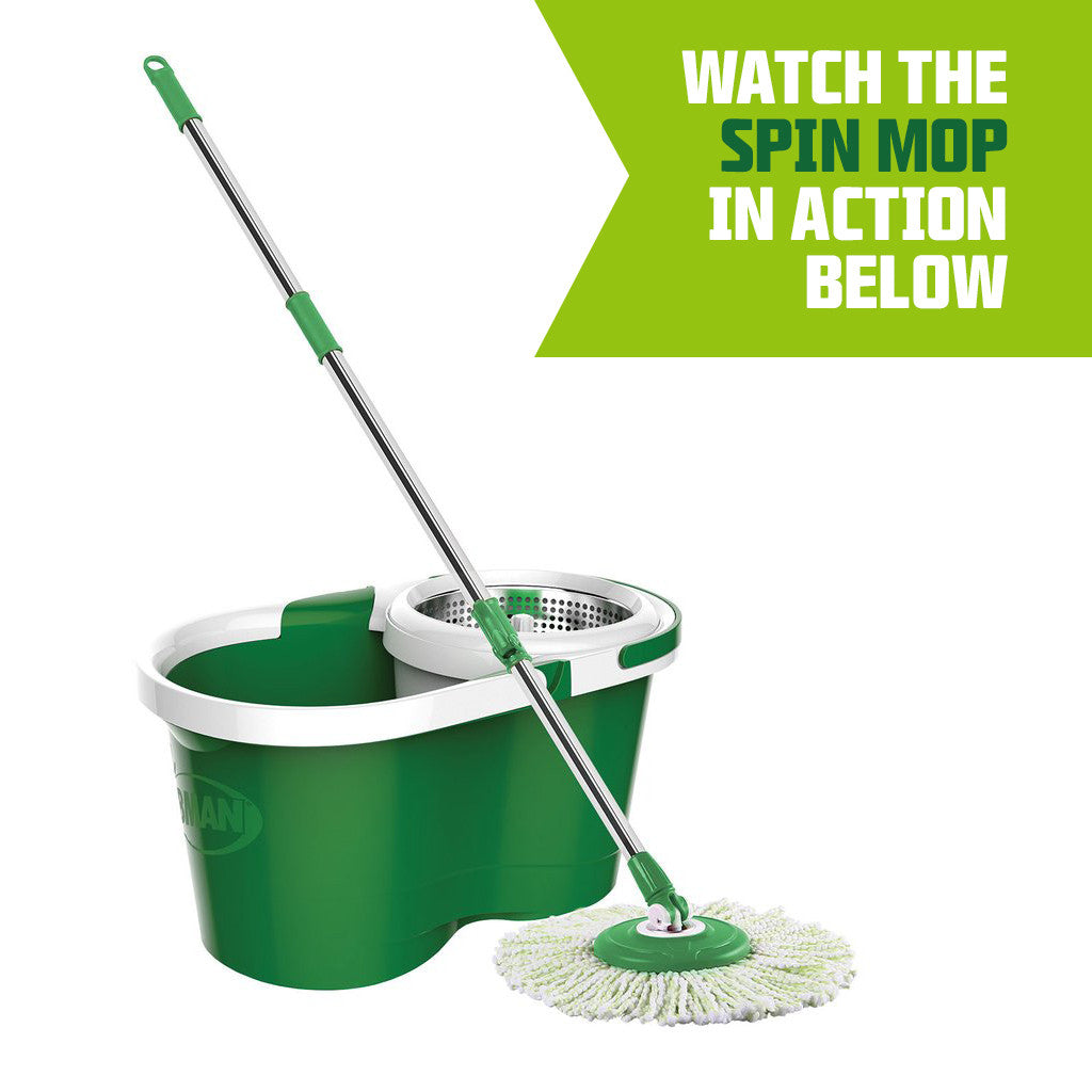 Best spinning mop and stainless steel spin mop bucket