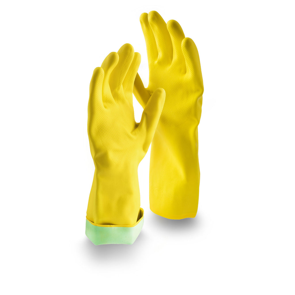 PREMIUM PLUS LATEX GLOVES - MEDIUM