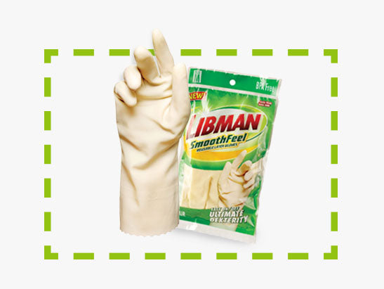 Smooth Feel Rubber Gloves